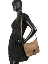 Shoulder Bag Gracieuse Hexagona Black gracieuse 315314-vue-porte