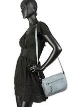 Shoulder Bag Gracieuse Hexagona Blue gracieuse 315311-vue-porte
