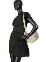 Shoulder Bag Fidele Hexagona Brown fidele 323908-vue-porte