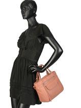 Top Handle  Leather Lancaster Beige 578-87-vue-porte