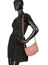 Crossbody Bag  Leather Lancaster Beige 5760-vue-porte