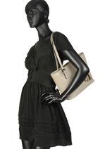 Shoulder Bag Palma Leather Milano Black palma PA15013N-vue-porte