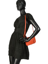 Crossbody Bag  Leather Milano Orange G1421-vue-porte