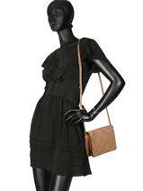 Crossbody Bag Gd Leather Gerard darel Beige gd DJS33410-vue-porte
