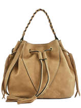Sac Porté Main Obstacle Etrier Beige obstacle EOBS05