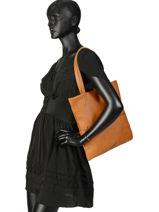 Shopper Flat Bag Woomen Beige flat bag WFLAT01-vue-porte