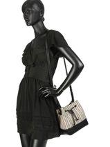 Crossbody Bag Azalee Woomen Black azalee WAZAL04-vue-porte