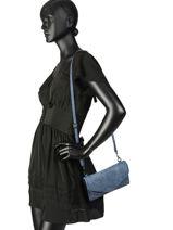 Crossbody Bag Pivoine Woomen Blue pivoine WPIVO01-vue-porte