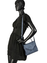 Crossbody Bag Pivoine Woomen Blue pivoine WPIVO02-vue-porte