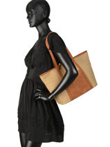 Shoulder Bag Tournesol Woomen Brown tournesol WTOUR04-vue-porte