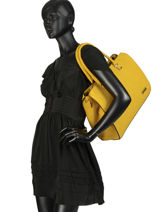 Sac Shopping Format A4 Gallantry Jaune format a4 M9216OR-vue-porte
