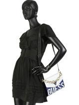 Shoulder Bag Maddy Guess Black maddy VL729121-vue-porte