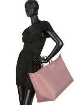 Longchamp Le pliage club Sacs de voyage Rose-vue-porte