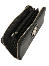 Open Road Wallet Guess Black open road VG718646-vue-porte