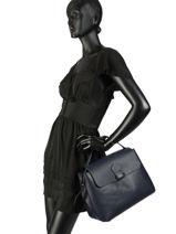 Top Handle  Leather Milano Blue CA18114-vue-porte