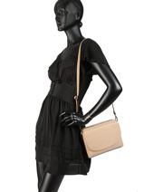 Shoulder Bag  Leather Milano Black CA17068-vue-porte