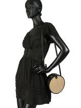 Shoulder Bag Fred Miniprix Black fred MD351-vue-porte