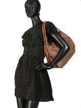 Shoulder Bag Felix Miniprix Brown felix MD281-vue-porte