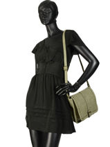 Shoulder Bag Felix Miniprix Green felix MD283-vue-porte
