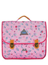 Satchel 2 Compartments Poids plume Pink liberty LIB1541