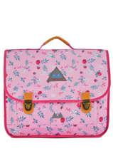 Satchel 2 Compartments Poids plume Pink liberty LIB1541
