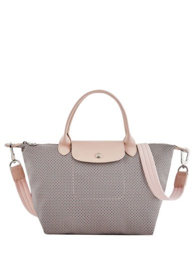 Longchamp Le pliage dandy Sacs porté main Rose