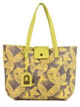 Shoulder Bag A4 Tropical Lulu castagnette Yellow tropical KABIL