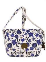 Shoulder Bag Floral Lulu castagnette Blue floral KERINA