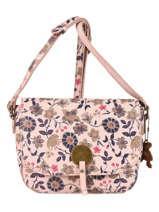 Shoulder Bag Floral Lulu castagnette Pink floral KERINA