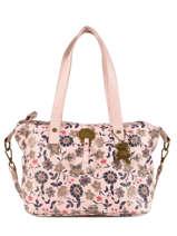 Sac Shopping Floral Lulu castagnette Rose floral KOLANTA