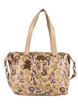 Sac Shopping Floral Lulu castagnette Jaune floral KOLANTA