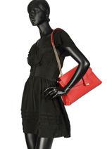 Shoulder Bag Colette Guess Red colette VG729320-vue-porte