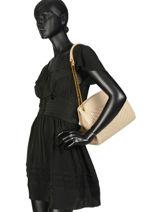 Crossbody Bag Vintage Leather Nat et nin White vintage SIMONEMA-vue-porte