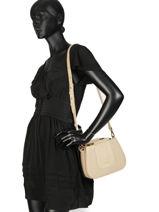 Shoulder Bag Vintage Nat et nin White vintage NANCY-vue-porte