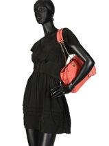 Shoulder Bag Violet Guess Orange violet VG729409-vue-porte