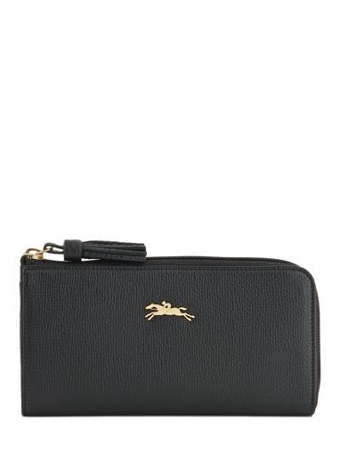 Longchamp Pénélope Portefeuilles Noir