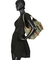 Shoulder Bag Authentic Tresse Torrow Black authentic tresse H0541-vue-porte