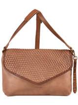 Shoulder Bag Authentic Tresse Torrow Beige authentic tresse X8321