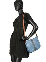 Crossbody Bag Authentic Torrow Black authentic X6616-vue-porte