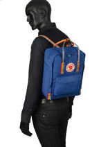 Backpack 1 Compartment Fjallraven Black kanken 23620-vue-porte