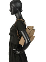 Backpack Hexagona Brown madrid 535848-vue-porte