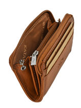 Purse Leather Katana Gold tampon 253042-vue-porte