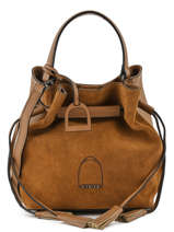 Sac Bourse Jockey Etrier Marron jockey EJOC06