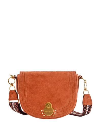 Longchamp Cavalcade wild Messenger bag Brown