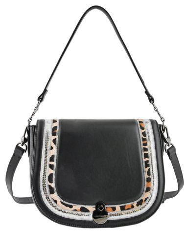 Longchamp Cavalcade eclat Besaces Noir