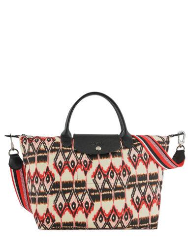 Longchamp Le pliage ikat Handbag Beige