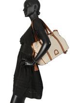 Shoulder Bag Opera Etrier Beige opera EOPE025-vue-porte