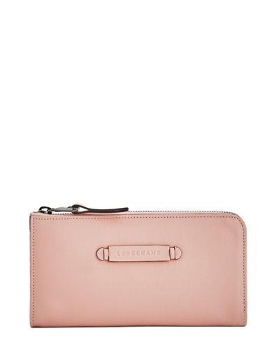 Longchamp Wallet Pink