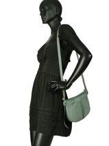 Crossbody Bag Natte Etrier Green natte ENTT05-vue-porte