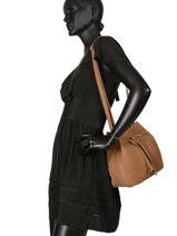 Bucket Bag Natte Etrier Brown natte ENTT07-vue-porte
